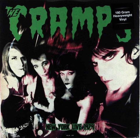 Cramps - Live in New York 1979 180g colored vinyl