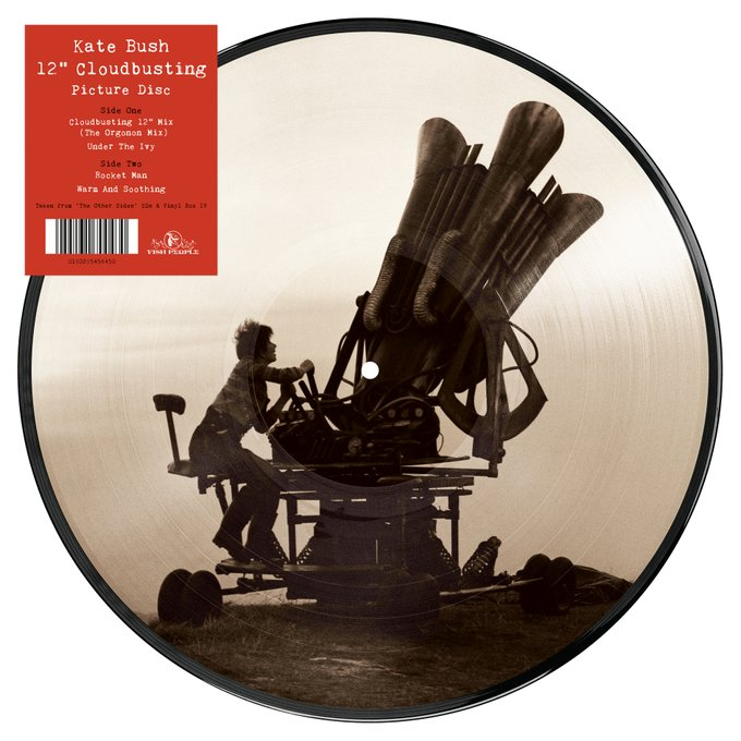 "Kate Bush - Cloudbusting 12"" Limited edition PICTURE DISC"