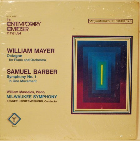 Samuel Barber & William Mayer - The Contemporary Composer in the USA