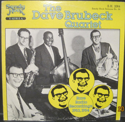 Dave Brubeck Quartet - Rare Radio Recordings 1953 and 1954