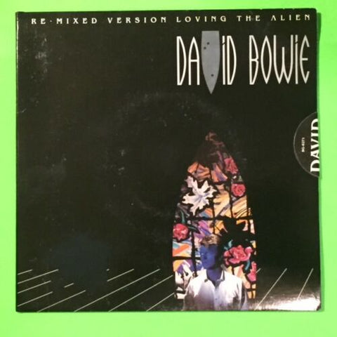 David Bowie - Loving The Alien b/w Don't Look Back - Remix w/PS
