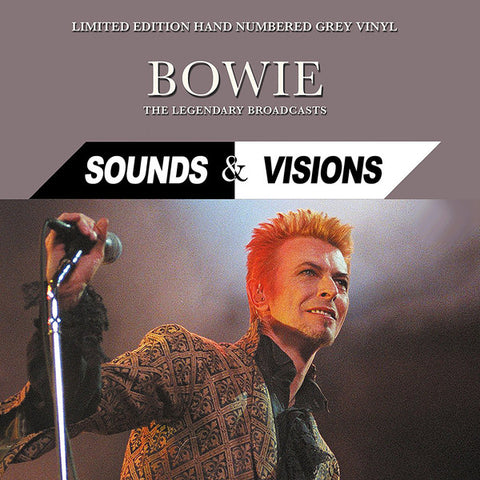 David Bowie - Sounds and Vision - The Legendary Broadcasts on LTD Grey vinyl