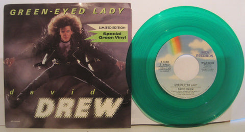 David Drew - Green-Eyed Lady b/w Pretty Baby