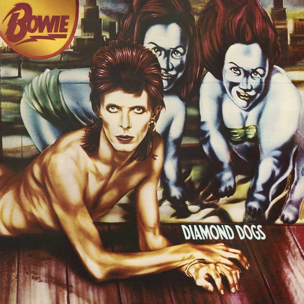 David Bowie - Diamond Dogs 180g LP 45th Anniversary on colored vinyl!