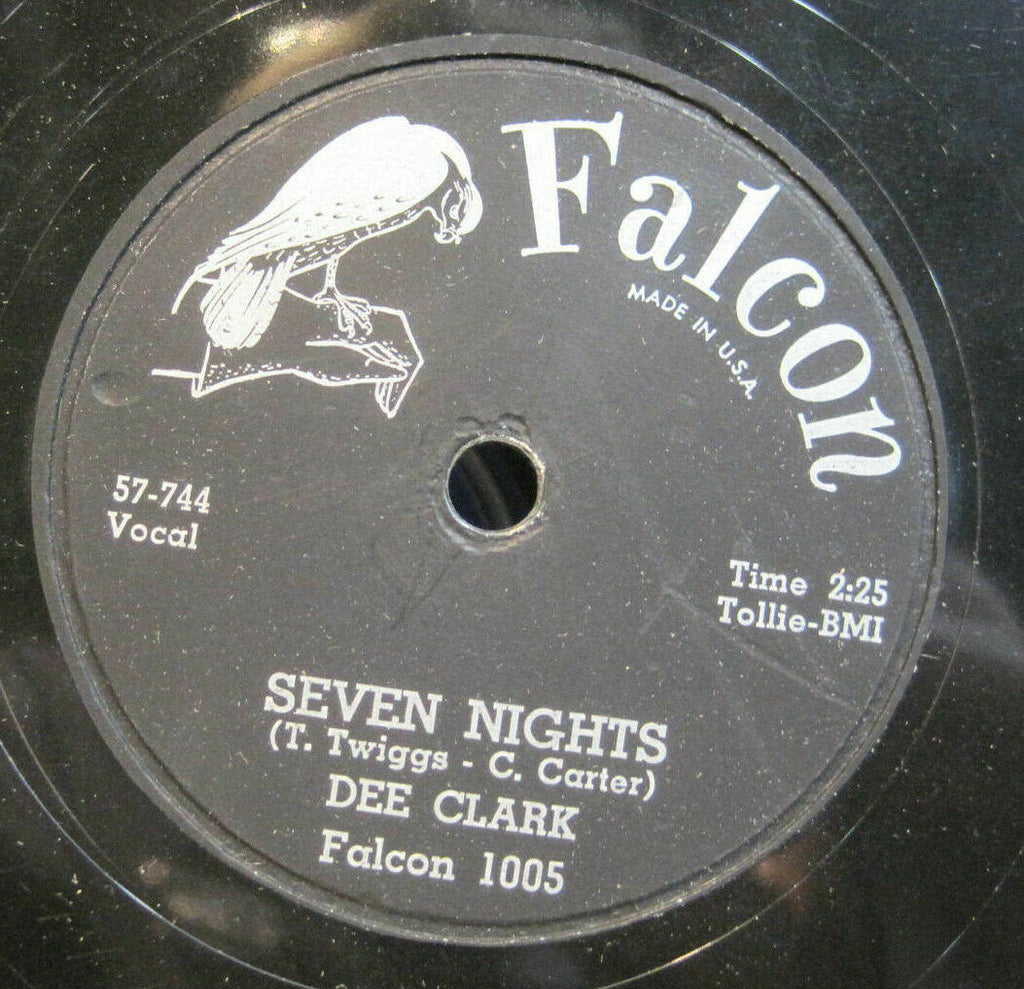 Dee Clark - 24 Boy Friends b/w Seven Nights