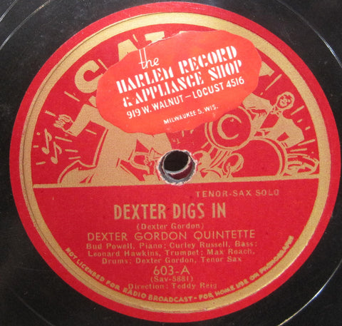 Dexter Gordon - Dexter Digs In b/w Long Tall Dexter