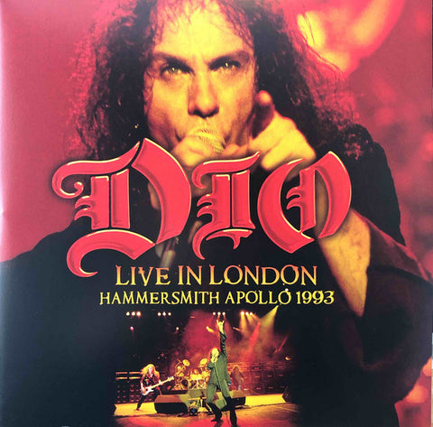 Dio - Live in London Hammersmith Apollo 1993- Limited 2 LP set