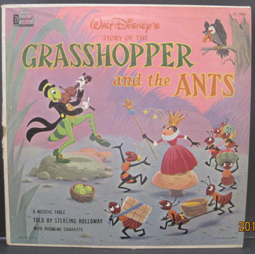 Walt Disney's Story of The Grasshopper and The Ants with Sterling Holloway