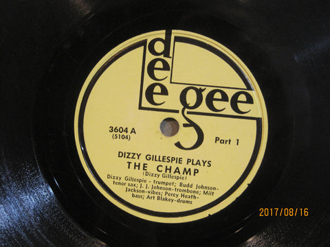 Dizzy Gillespie & Art Blakey - The Champ Part One and Two