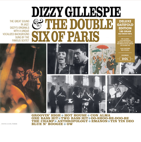 Dizzy Gillespie - & the Double Six of Paris - import 180g LP w/ gatafold jacket