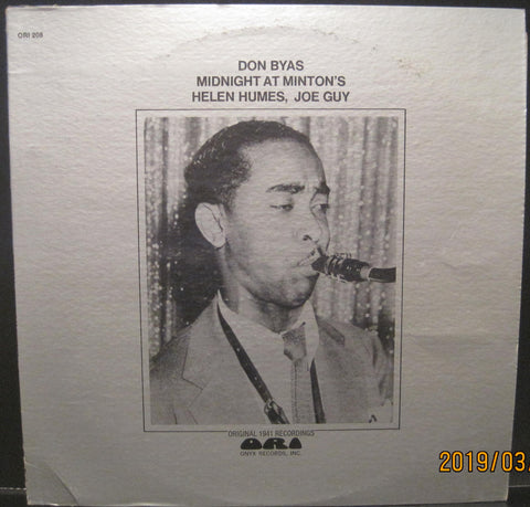 Don Byas - Midnight At Minton's