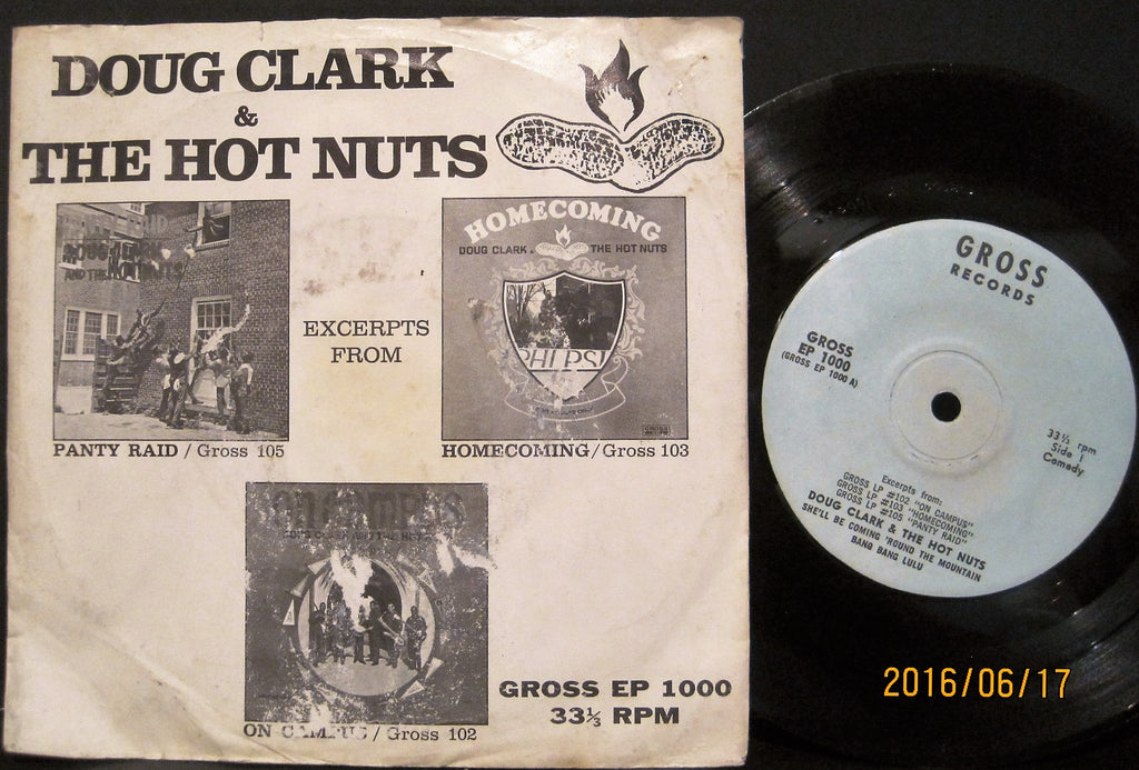 Doug Clark & The Hot Nuts - Excerpts EP  PS