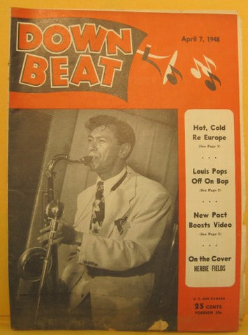 Down Beat - April 7, 1948 Herbie Fields