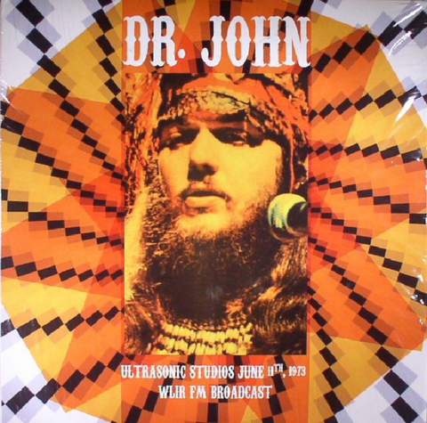 Dr. John - At Ultrasonic Studios 1973 - FM broadcast - 2 Import LPs