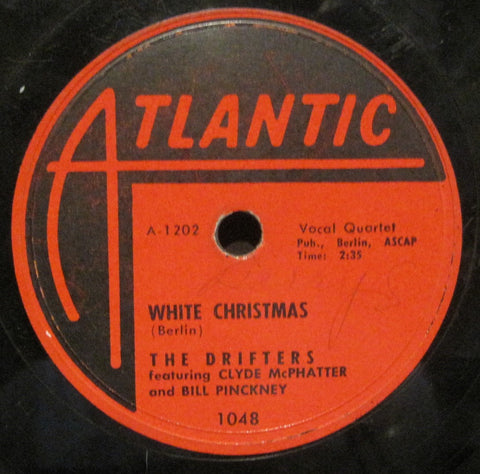 Drifters - White Christmas b/w The Bells of St. Mary's