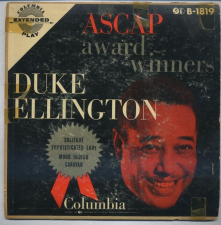 Duke Ellington - ASCAP Award Winner