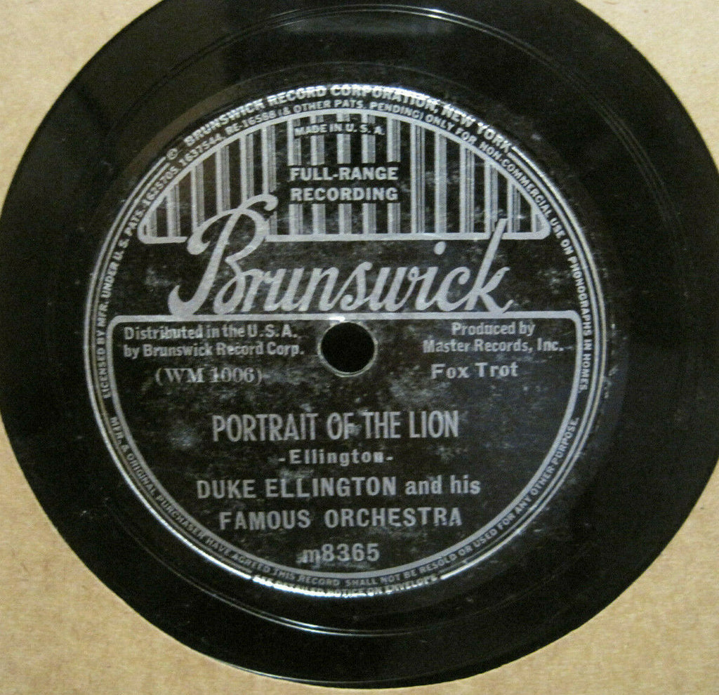 Duke Ellington - Portrait of The Lion b/w Something To Live For