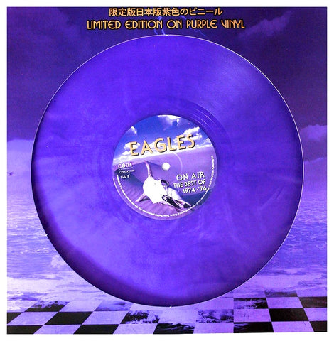 Eagles - On Air - Best of 1974-76 - import on Purple vinyl