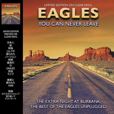 Eagles - You Can Never Leave - on Clear vinyl w/ bonus e-book