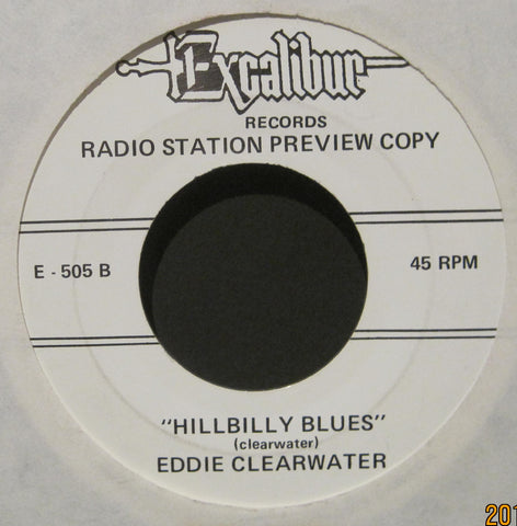 Eddie Clearwater - Hillbilly Blues b/w Would I Love You - The Miracles