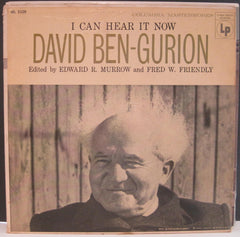 Edward R. Murrow I Can Hear It Now with David Ben-Gurion