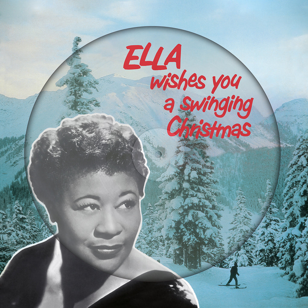 Ella Fitzgerald Wishes You a Swinging Christmas - PICTURE DISC Lmt Ed import