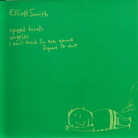 "Elliott Smith - Speed Trials 3 Track 7"" 45 w/ PS + MP3"
