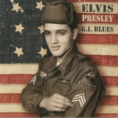 Elvis Presley - G.I. Blues - Limited import LP on CLEAR vinyl