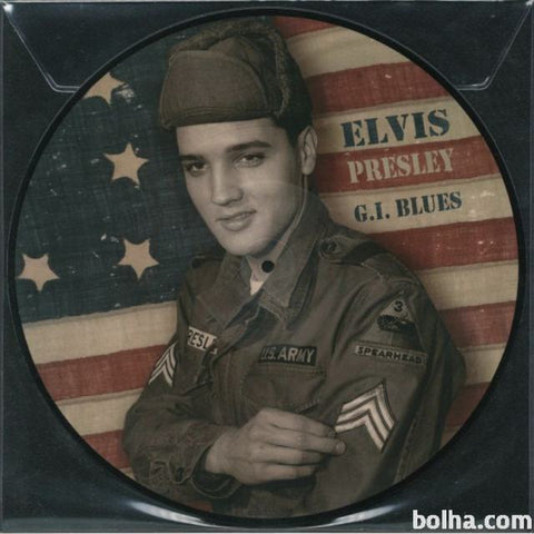 Elvis Presley - G.I. Blues - Limited import Picture Disc