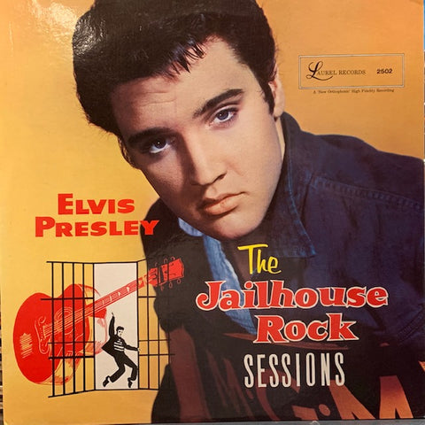Elvis Presley - The Jailhouse Rock Sessions - Import LP