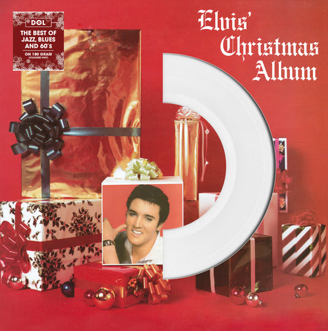 Elvis Presley - Christmas Album & More import White Vinyl!