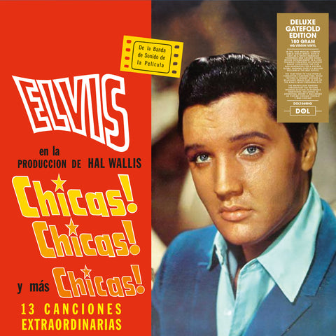 Elvis Presley - Chicas! Chicas! Chicas! - 180g import LP w/ gatefold jacket