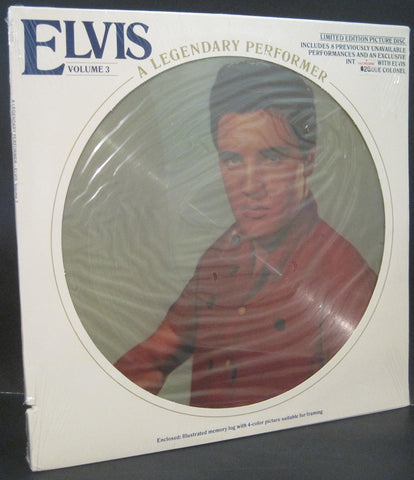 Elvis Presley - Legendary Performer Volume 3 Picture Disc