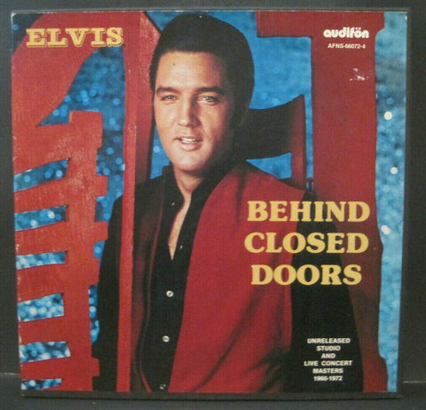 Elvis Presley - Behind Closed Doors Box Set
