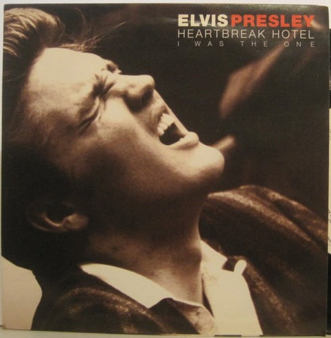 Elvis Presley - Heartbreak Hotel / I Was The One 4 track EP w/ alternates & PS