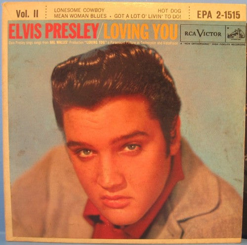 Elvis Presley - Loving You Vol. II Ep