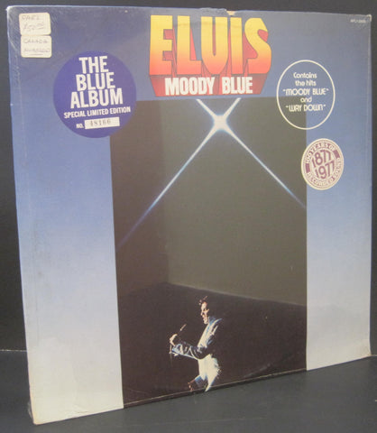 Elvis Presley - Moody Blue (Limited Edition Canadian Pressing)