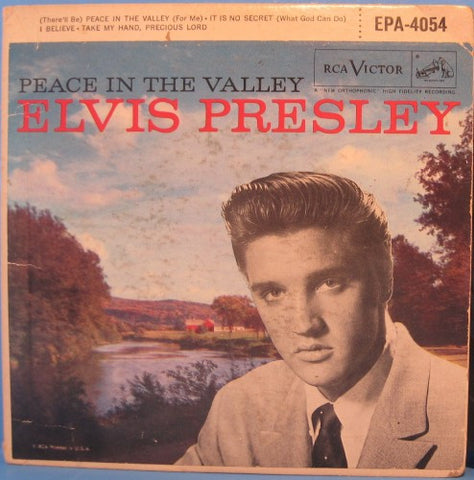 Elvis Presley - Peace in The Valley Ep