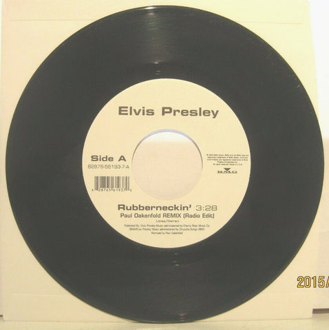 Elvis Presley - Rubberneckin' (Paul Oakenfold) White label