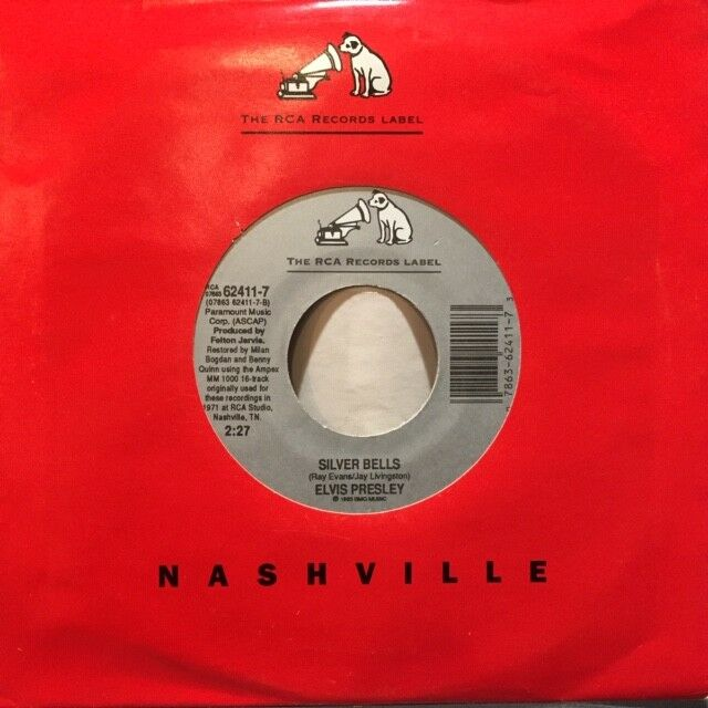 Elvis Presley - Silver Bells / Unissued version