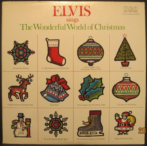 Elvis Presley - Sings the Wonderful World of Christmas