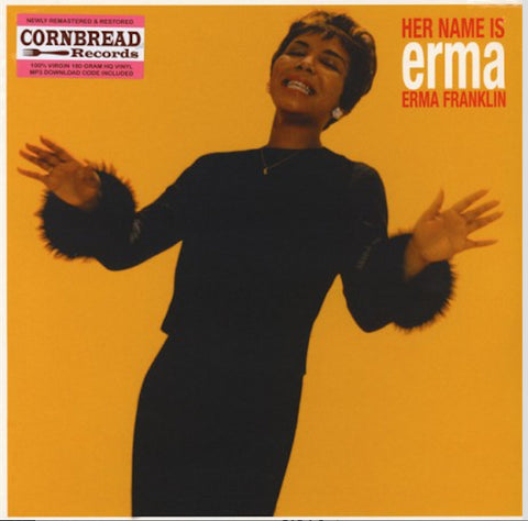 Erma Franklin - Her Name is Erma - 180g import LP w/ bonus trx & DLC!