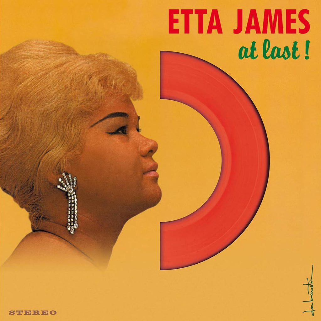 Etta James - At Last - 180g LP with 4 bonus tracks! RED VINYL!