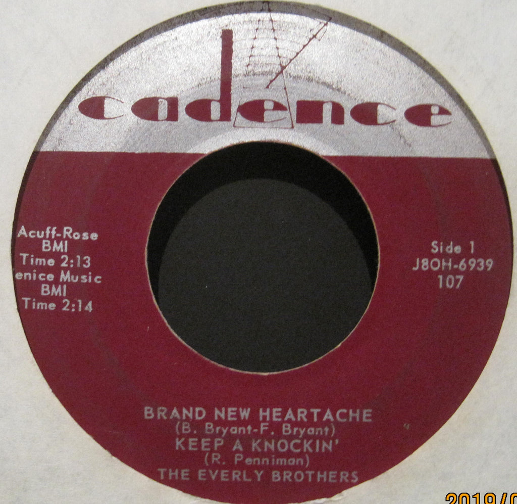 Everly Brothers - Brand New Heartache EP