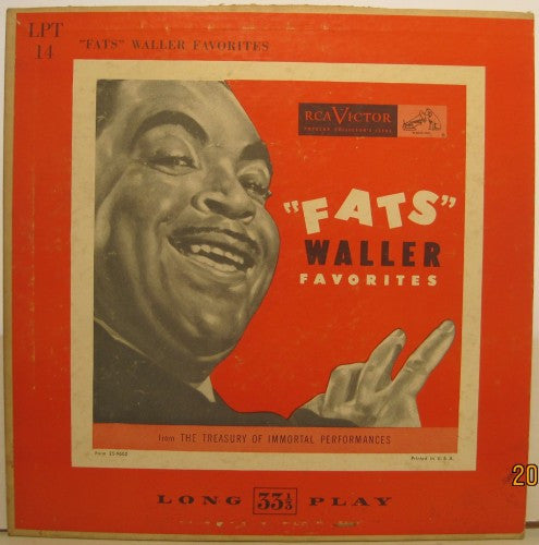 "Fats Waller - Favorites 10"" LP"