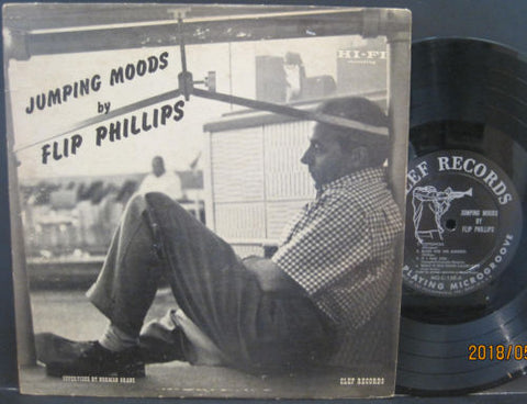 Flip Phillips - Jumping Moods 10""
