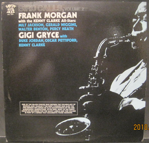 Frank Morgan - Bird Calls Volume 2