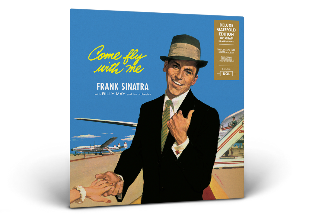 Frank Sinatra - Come Fly With Me - 180g Gatefold import