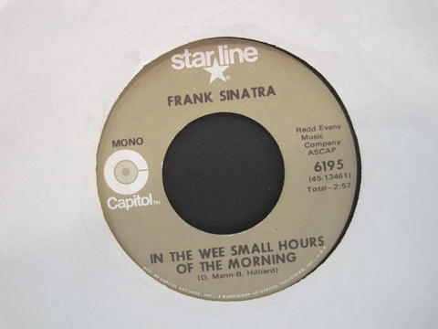 Frank Sinatra - Night and Day b/w In The Wee Small Hours of The Morning