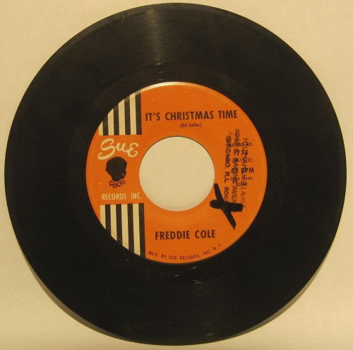 Freddie Cole - It's Christmas Time/ Right Now